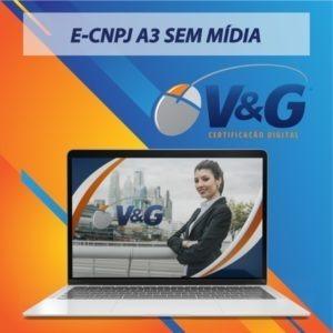 E-CNPJ A3 SEM MIDIA